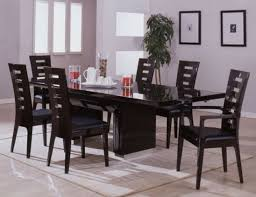 Modern Dining Room Chairs Chosen for Stylish and Open Dining Area ...