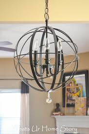 diy chandelier ideas and project tutorials orb easy makeover tips rustic pipe