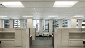 Office lightings Led Open Concept Office Space Modernplace Selecting The Optimal Office Lighting System Standard