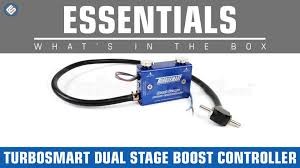 how a boost controller works turbosmart dual stage boost controller whats in the box youtube
