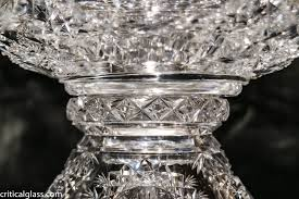 here s a set that won t come up often if ever it s a punch set in hawkes north star design the set features a full punch bowl stand and 4 matching cups