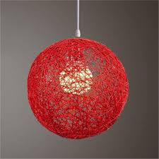lb concise hand woven rattan vine ball pendant lampshade light lamp shades light accessories
