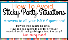 meaning of rsvp and help with invitations