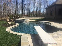 Backyard Swimming Pool Designs Enchanting Lenoir City Pool Photos Knoxville Custom Pool Design