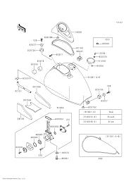 Kawasaki oem part 92093 1030 fuel tank cap seal ebay