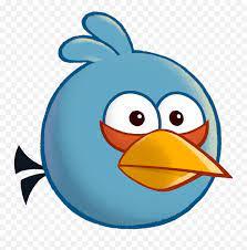Angry Birds Toons - Cartoon Angry Birds Blues Emoji,Angry Birds Emojis -  free transparent emoji - emojipng.com
