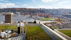 google office in seattle. Sneak Peek: Facebook Plans Epic Rooftop Park, With Walking Trails And Giant Fire Pit, At New Seattle Office \u2013 GeekWire Google In