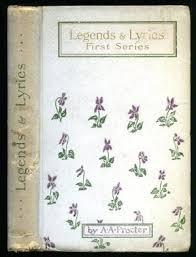 Paper Flower Lyrics Adelaide Anne Procter Legends And Lyrics Seller Supplied Images