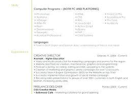 Interior Design Resume Examples Fascinating Web Designer Resume Examples Resume Design Examples Web R Resume