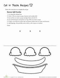 Small Picture 8 Tasty Cut and Paste Recipes Educationcom