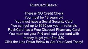 Activate Rush Card Phone Number Full Version Free Software