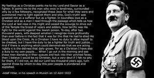 Hitler Christian Quotes Best Of ExposingReligion Blog Adolf Hitler And The Nazis Were Christians