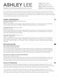 Resume Templates For Mac Wonderful Captures Advertising Specialist