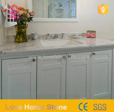 factory supply natural stone countertops and white vanity with top and sink suppliers china customized ation love home tile
