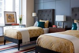 modern guest bedroom ideas. Contemporary Modern Guest Bedroom Design With Twin Beds Ideas