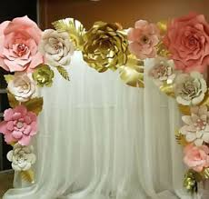 Paper Flower Wedding Backdrops Large Paper Flower Backdrop Magdalene Project Org