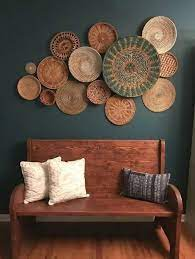 There are literally thousands of different ways to add beautiful art to the walls in every room of your 3. Cheap Home Decor Websites Cheap Decor Websites Billige Wohnkultur Websites Sites Web De D Basket Wall Decor Living Room Decor Rustic Bohemian Wall Decor