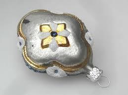 Koselglas Christbaumschmuck Ornament Mit Engel Nostalgie