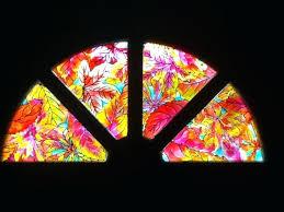diy stain glass window stained glass window stickers diy stained glass windows kits