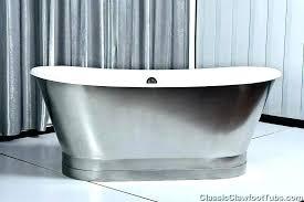 alcove cast iron bathtub cast iron bathtub cast iron enamel bathtub porcelain on steel iron double ended stainless steel slipper cast iron bathtub 54 inch