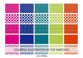 Illustrator Pattern Swatches Beauteous Assorted Illustrator Color And Pattern Swatches Download Free
