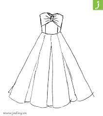 Tổng hợp các tranh tô màu váy công chúa được rất nhiều bé gái yêu thích -  Jadiny