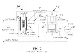 patent us motion sensor switch for way light circuit patent drawing