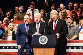 SNL': Alec Baldwin's Trump rally mocks Bill Clinton, Mark Zuckerberg