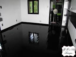 Gloss Kitchen Floor Tiles High Gloss Black Floor Tiles Akiozcom