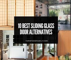alternatives to sliding glass doors