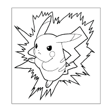 Pokemon Pikachu Coloring Pages Coloring Pages Online Color All You