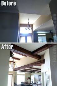 faux wooden beams canada faux wood beams for uk faux wood beams add warmth to