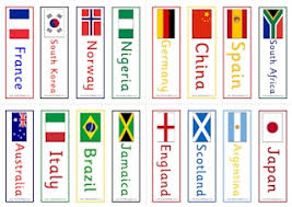 World country and organization flags. Women S World Cup For Kids