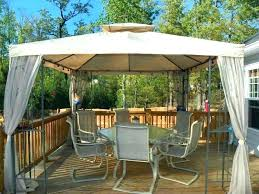 backyard shade outdoor canopy ideas deck gazebo on solutions pictures of decks gazebos diy smart ways