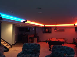 man cave lighting. Man Cave Game Room LED Lighting Contemporary-family-room S