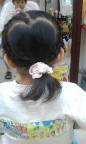 子供 髪型 アレンジ 美しい髪