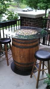 wine barrel outdoor furniture. Wine Barrel Outdoor Furniture Change Is Strange C