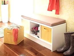 closetmaid cube drawers closet maid storage cubes entryway featuring a 3 cube storage bench in white closetmaid cube