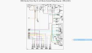 chrysler diagram of the a\\c system showing components fan relay 2001 chrysler town and country wiring diagram 2001 Chrysler Town And Country Wiring Diagram yes, i believe the blue is pos,and the white is signal to from pcm and i just have wiring diagrams available for the a c system