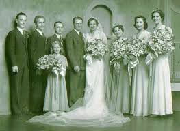 Wedding of Ruth Peters and Nick Kausch including Loretta (Peters) & Al  Reiser, Delores (Gerlach)&