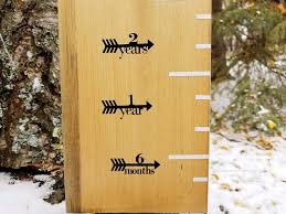 How To Mark A Wooden Growth Chart Amazon Com Classic Growth Chart Arrows Height Marking