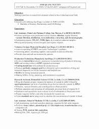 Clinical Lab Technician Resume Sample Unique Interesting Sample