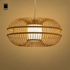 wicker pendant light. Bamboo Wicker Rattan Bud Pendant Light Fixture Rustic Japanese Modern Hanging Lamp Lustre Avize Luminairia Design