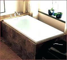 x deep soaking tub alcove bathtub bathtubs idea standard 60 30 trails rectangular at