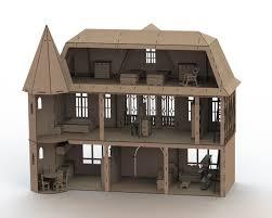 dollhouse miniature furniture. Dollhouse With Furniture Miniature
