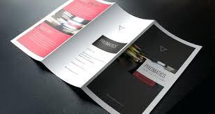 Business Tri Fold Brochure Templates Free 3 Template Corporate 2
