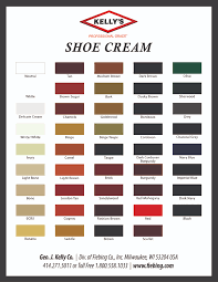 suede dye color chart 2016 kelly s shoe cream flyer print