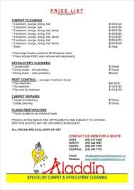 House Cleaning Template Free 020 Cleaning Service Price List 788x1114 House Templates