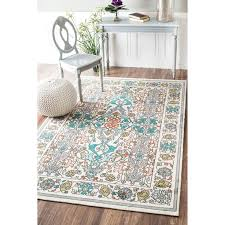 459 best rugs images on contemporary rugs teal and yellow fl rug