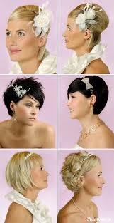 Kudrnaté Na Krátké Vlasy Na Svatbu Svatební Obvazky A Elastické